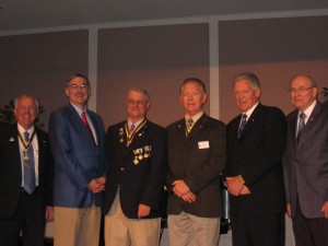 Harry Geimeier, James B. Strohmeier, Preston T. Higgins, II, Thomas E. Geimeier, Ray Hughes, George McCain